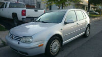 2000 Volkswagen Golf TDi Diesel Berlin manual certified km