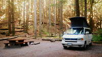Looking to rent a VW Westfalia or similar camper near Vancouver?