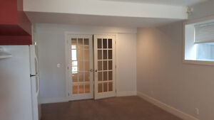 Lower level suite in Coventry hills