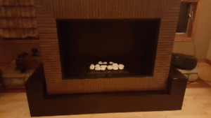 Dimplex Amsden OptiMyst Electric Fireplace & TV Stand