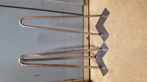 Hairpin legs and metal bases