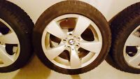 235 45 r17 BMW 5 series RIMS and Winter tires