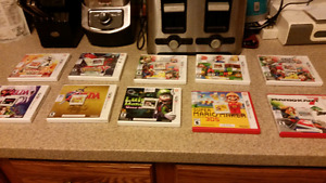 Selling 5 3ds games