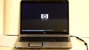 "HP Pavilion DV9000 17"" Windows VT Pro 80GB HD Laptop"