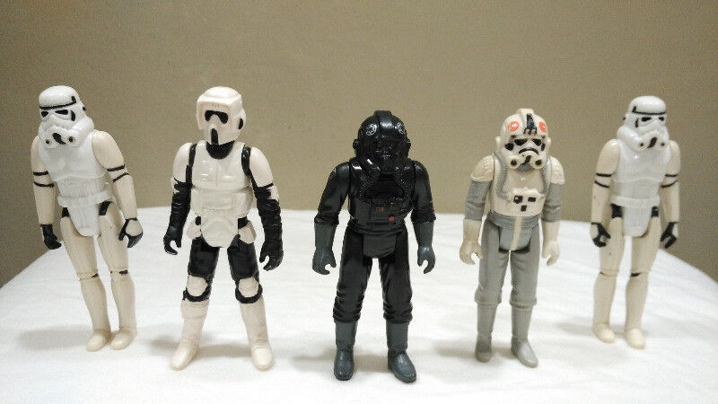 Vintage Kenner Star Wars Action Figures - The Empire's Troops Set