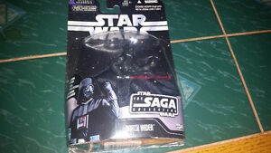Darth Vader from The Saga collection comes with hologram figure.