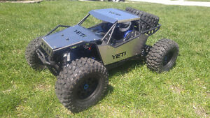 Axial Yeti XL with upgrades, Stainless body panels TRADES