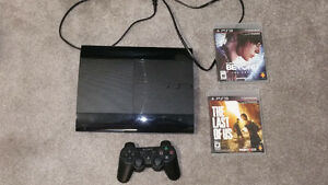 PS3 250GB, Controller, Games