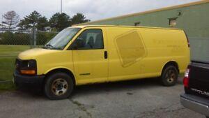 2004 GMC Savana 2500 Van as is