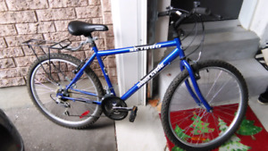 """Supercycle SC1800 mountain bike 18 speed 18"""" frame great shape"""