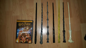 Harry potter wands and robe