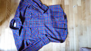 mens large button up lot