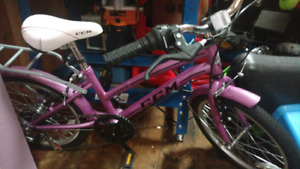 "Ccm 16"" 6 speed girls bike"