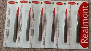 Realmont slanted tweezers (set of 6) West Island Greater Montréal image 1