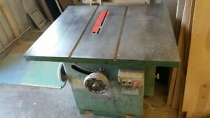 "MILLWORKERS:  12"" General Scoring Table Saw"