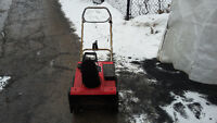 Toro CCR2000 snowblower with 4.5HP Suzuki Mikuni engine