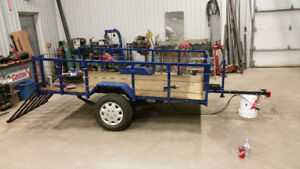 Utility trailer 5.5ft wide x 9ft long