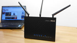 AC1900 Dual Band Router Model: ASUS RT-AC68U