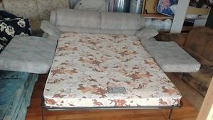 Couch hide A bed ,FROM SMOKE FREE AND PETS FREE HOME..