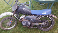 Kawasaki KD80 dirt bike for sale or trade? 2 stroke
