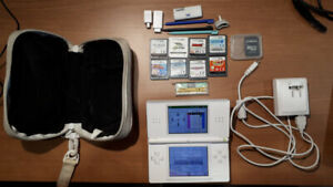 Nintendo DS Lite White + Games