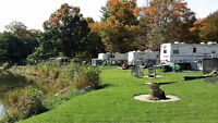 Seasonal Campground Sites Available, Thamesford Ontario