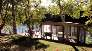 Private Riverfront Property for Rent - Near Caraquet