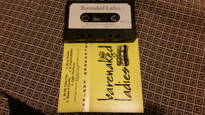 Bare Naked Ladies audio cassette