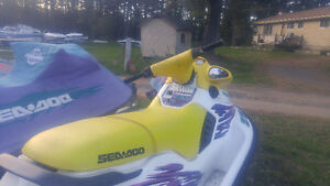 Seadoo sxp with double trailer