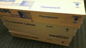 LAMPES FLUORESCENT LIGHT ‎BULBS SYLVANIA & PHILIPS