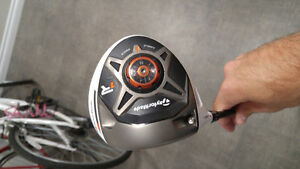 Taylor Made R1 Driver (left handed) - *used twice* Peterborough Peterborough Area image 2