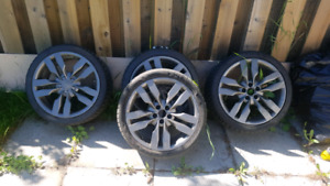 5 x 112 r19 audi rims and tires