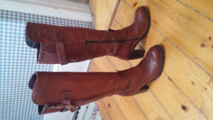 Pakros leather fall boots women's size 37