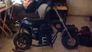 Dirtbug Minibike With New 212cc engine