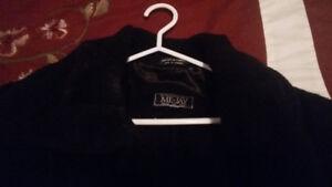 manteau en laine marque ME-JAY fabriqué au CANADA Taille 18