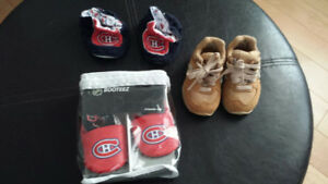 Mtl Canadians Slippers NEW