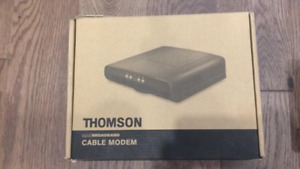 Cable Modem Thomson / NEW / All operators