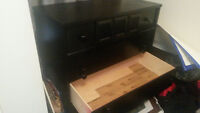 Black Deep Drawer Dresser
