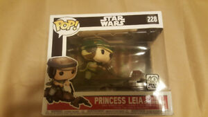 Funko POP! Deluxe: Starwars - Princess Leia with Speeder Bike