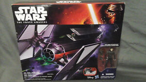 Star Wars force awakens first order special forces TIE Fighter