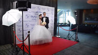 Red Carpet Backdrop For Your Event