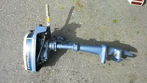 2HP Evinrude outboard