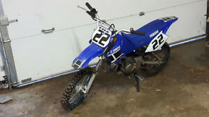 2005 Yamaha TTR 90 with extras