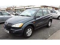 2010 SSANGYONG KYRON 2.0 S Diesel From GBP5,995 + Retail Package