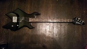B.C. Rich Warlock bass for sale reduced  $200obo open to trades
