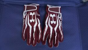 "Football Gloves ""Under Armour"" Brand - $10"