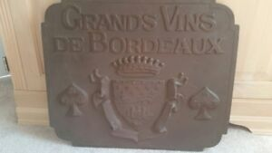 Wine-themed Wall Plaque