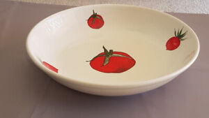 Large Italian Ceramic Pasts Serving Dish 13""