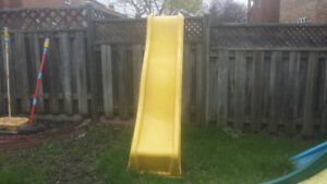 Many Playset Slides/Swing Accessories