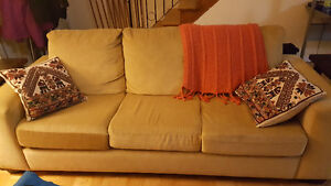 Sectional Sofa with Queen Chaise Hide-A-Bed